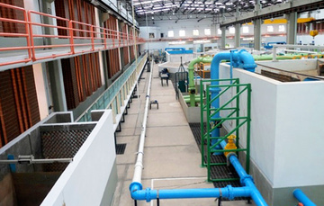 Instalación desarrollada para realizar pruebas en el laboratorio Enzo Levi del IMTA.