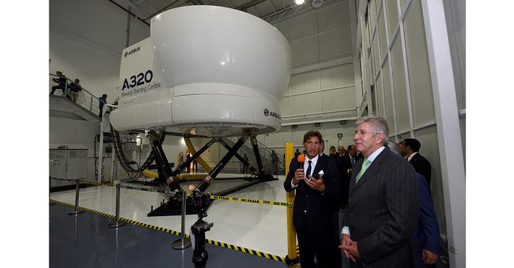 centro de entrenamiento de Airbus