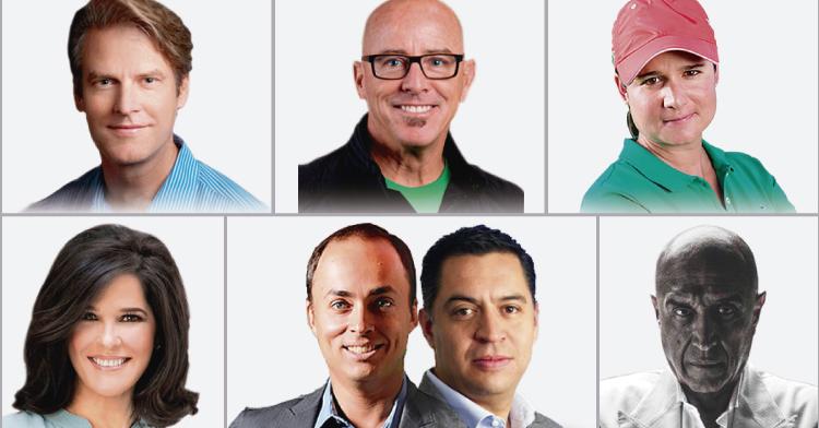 Conoce algunos de los ponentes de las más de 450 conferencias impartidas durante la Semana Nacional  del Emprendedor.