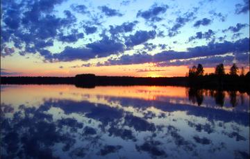 Lagos de Finlandia, foto de Vicente Villamón vía Creative Commons.
