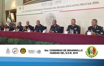 3/er. Congreso de Desarrollo Humano del Sistema Educativo Militar.
