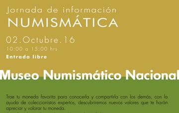 Jornada numismática de octubre