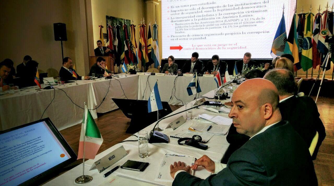 En Buenos Aires, el Comisionado Nacional de Seguridad se reúne con ministros y altas autoridades de 16 países