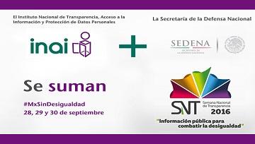 Semana Nacional de Transparencia.