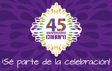 Eventos Conmemorativos del 45 Aniversario del Conafe