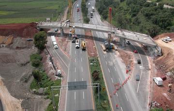 Construcción de una carretera