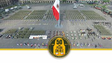 50 Aniversario de la Aplicación del Plan DN-III-E.