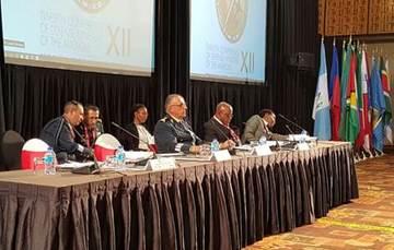 """""""XII Conferencia de Ministros de Defensa de las Américas""""."""