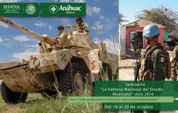 Seminario La Defensa Nacional del Estado Mexicano, ciclo 2016.