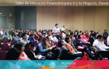 Llega PRONAFIM a Oaxaca para impartir taller en beneficio de sus microempresarios
