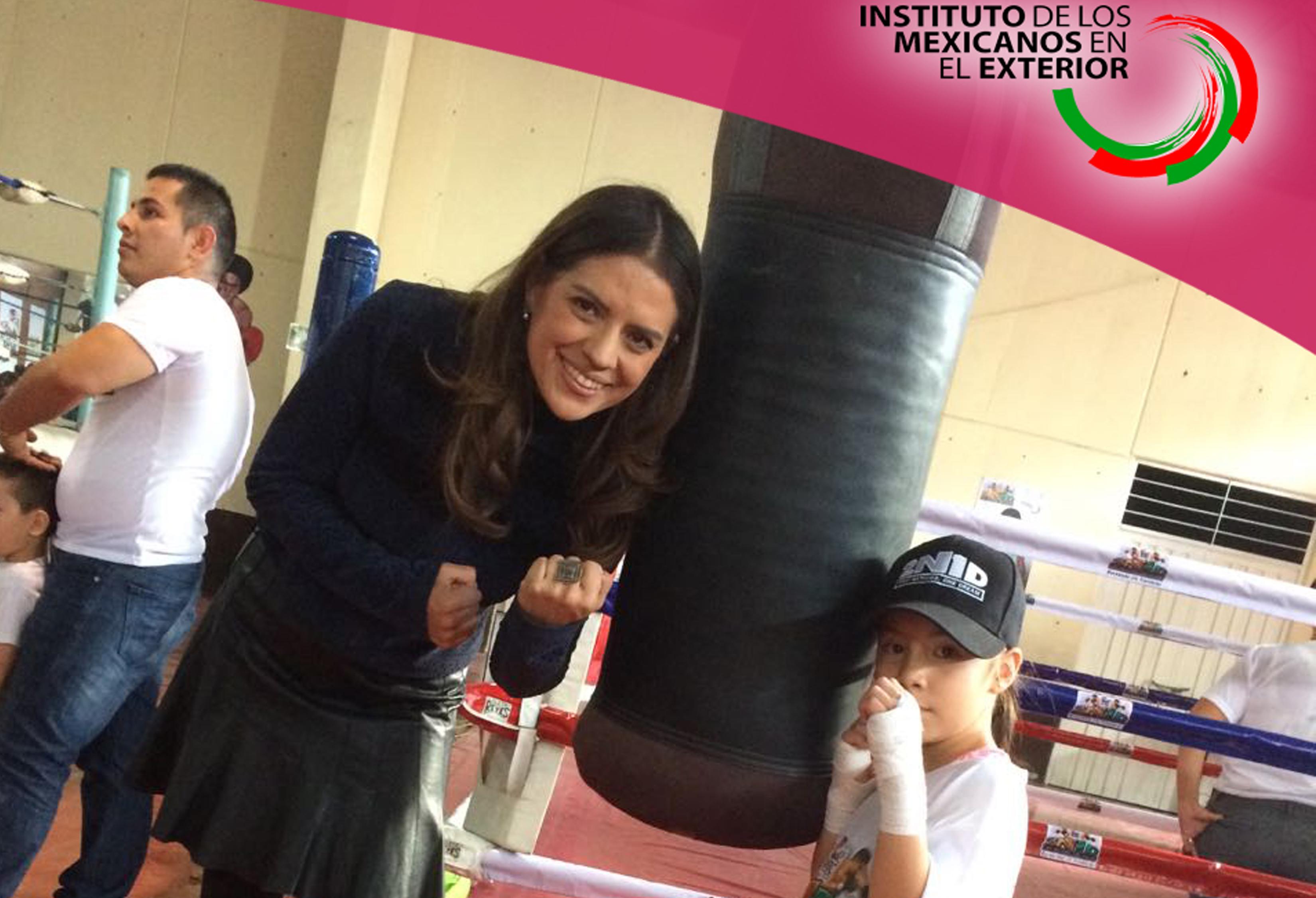 Dos Naciones Un Sue O Boxeando Sin Fronteras En Tepito Instituto De Los Mexicanos En El