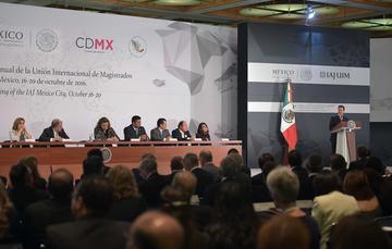 """""""Los mexicanos iniciamos a finales del 2012, mediante el diálogo y el acuerdo, un profundo proceso de transformación nacional"""": EPN"""