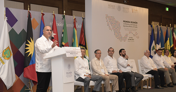 Primera reunión de Ministros y Secretarios de Agricultura  México-Caribe