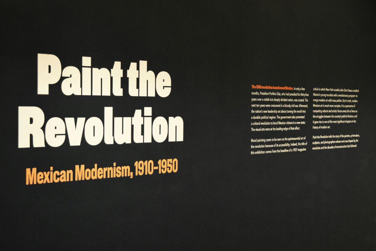 """""""Pintar la Revolución: El arte moderno mexicano, 1910-1950"""" en el Museo de Arte de Filadelfia."""