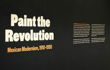 Paint the Revolution: Mexican Modernism, 1910-1950 at the Philadelphia Museum of Art