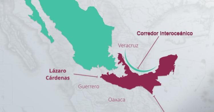 Las ZEE son la del Puerto Lázaro Cárdenas, que incluye municipios vecinos de Michoacán y Guerrero; la del Corredor del Istmo de Tehuantepec, que incluirá los polos de Coatzacoalcos, Veracruz, y Salina Cruz, Oaxaca; y la de Puerto Chiapas, en Chiapas.