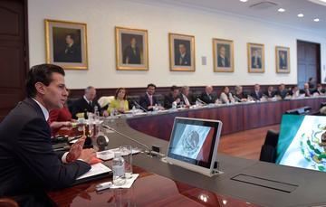 El Mandatario mexicanodio indicaciones a los titulares de las dependencias del Gobierno de la República, para la planeación de acciones con vistas al tercer tercio de su Administración.