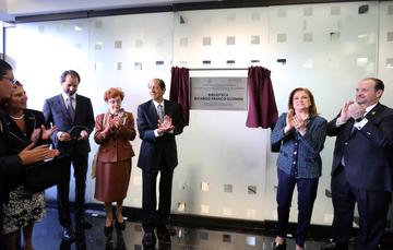 Inaugura Procuradora Arely Gómez la primera biblioteca especializada en materia electoral