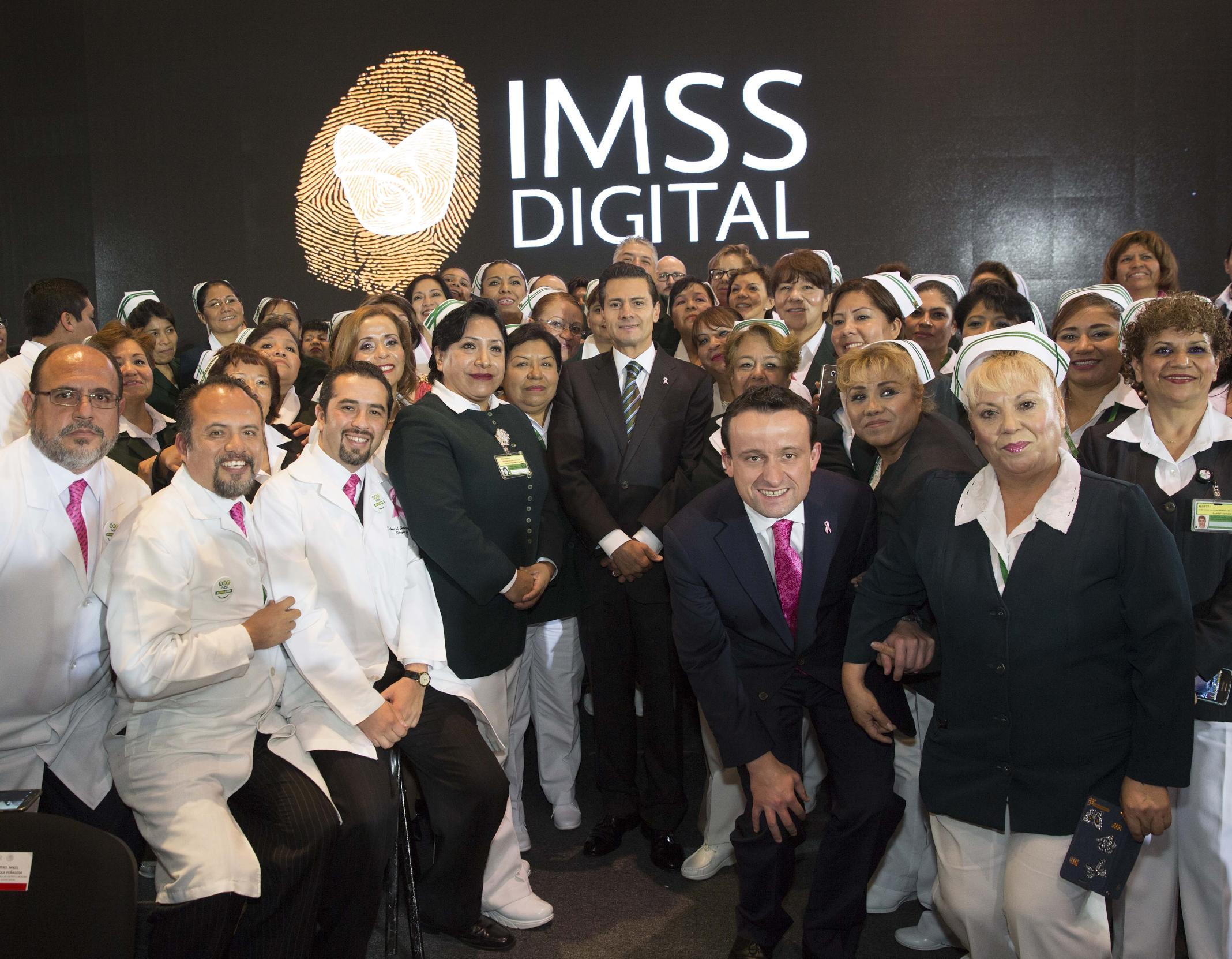 El Primer Mandatario expresó su gratitud a los 430 mil trabajadores del IMSS y a quienes forman parte de su Asamblea.