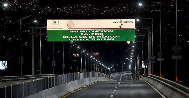 Interconexión 2do piso de la CD. de México-Caseta Tlalpan