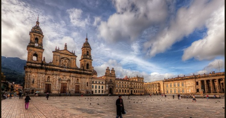 Foto de Bogotá.