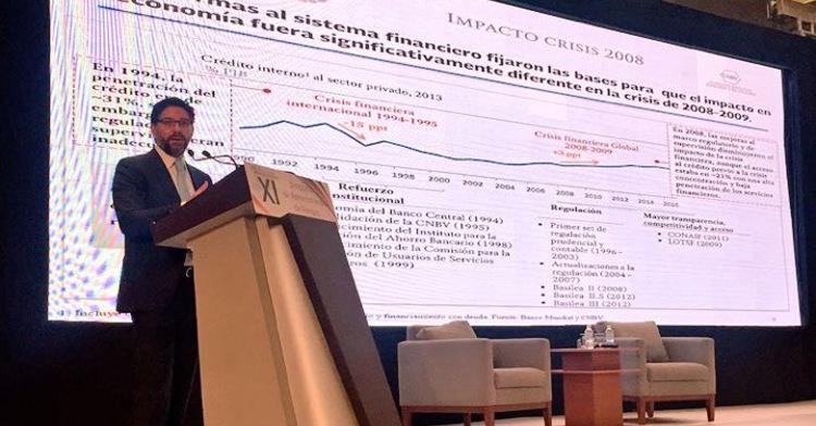 Tiene sistema bancario mexicano fundamentos sólidos para potenciar su desarrollo: Jaime González