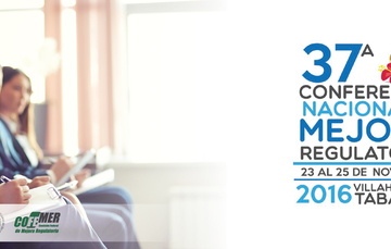 37a Conferencia Nacional de Mejora Regulatoria