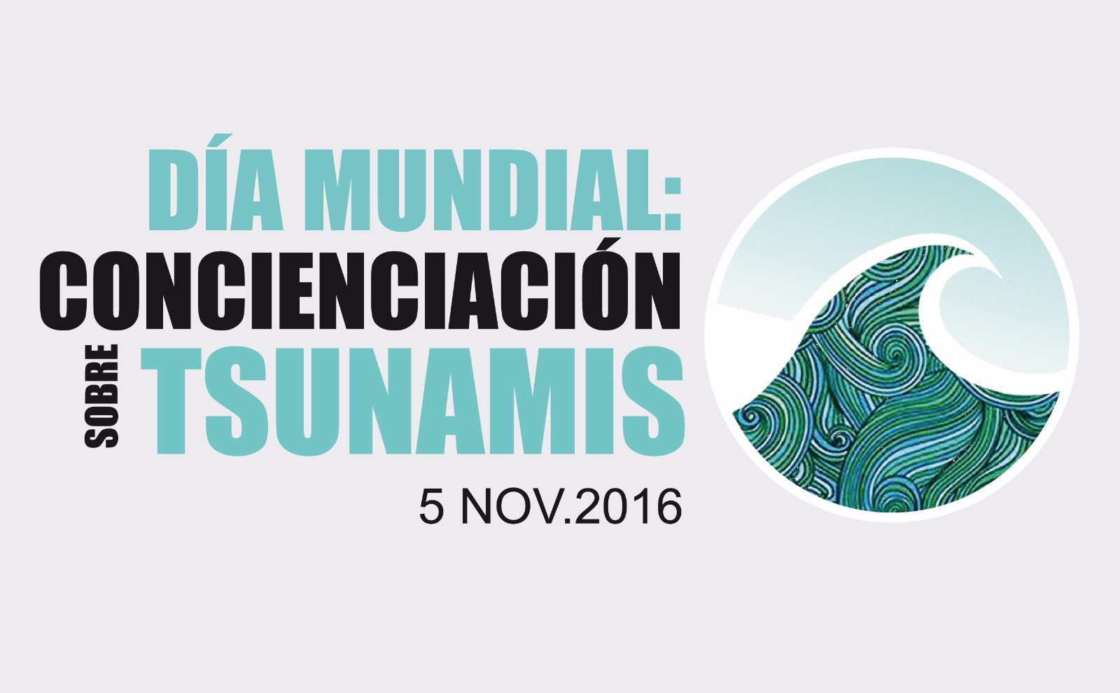 Día Mundial: Concienciación sobre Tsunamis