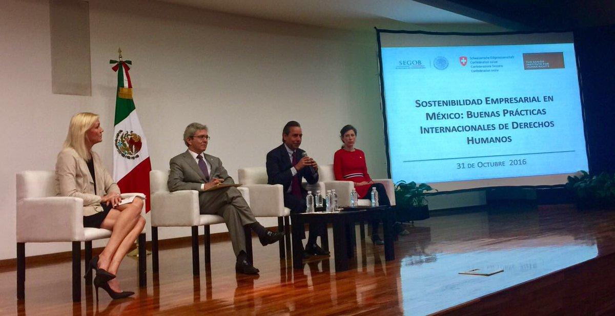 El Doctor Ricardo Sepúlveda, Director General de Políticas Públicas en Derechos Humanos interviene en inauguración del foro.