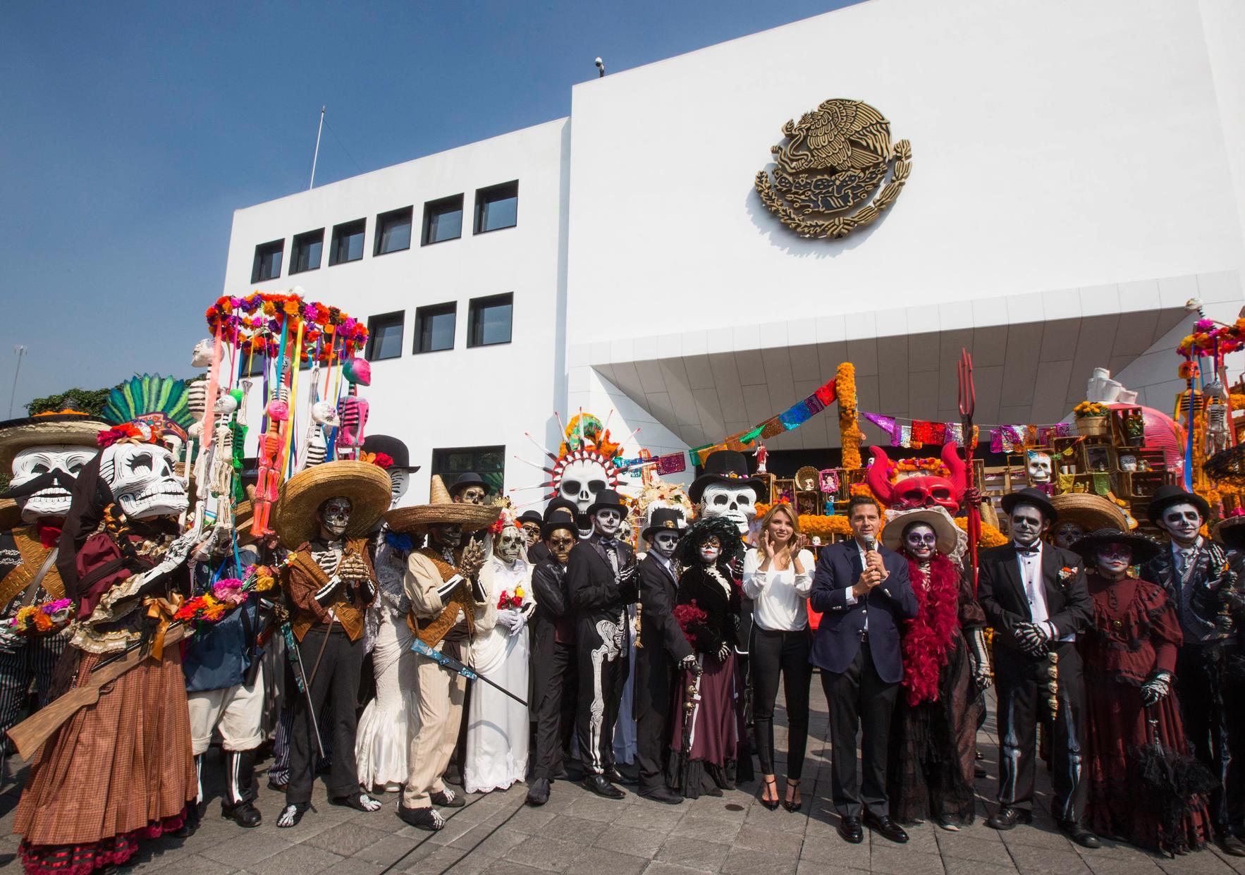 La celebración en México del Día de Muertos está reconocida por la UNESCO como Patrimonio Intangible de la Humanidad.