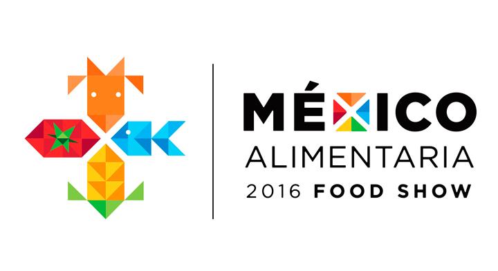 Logo de México Alimentaria 2016 Food Show