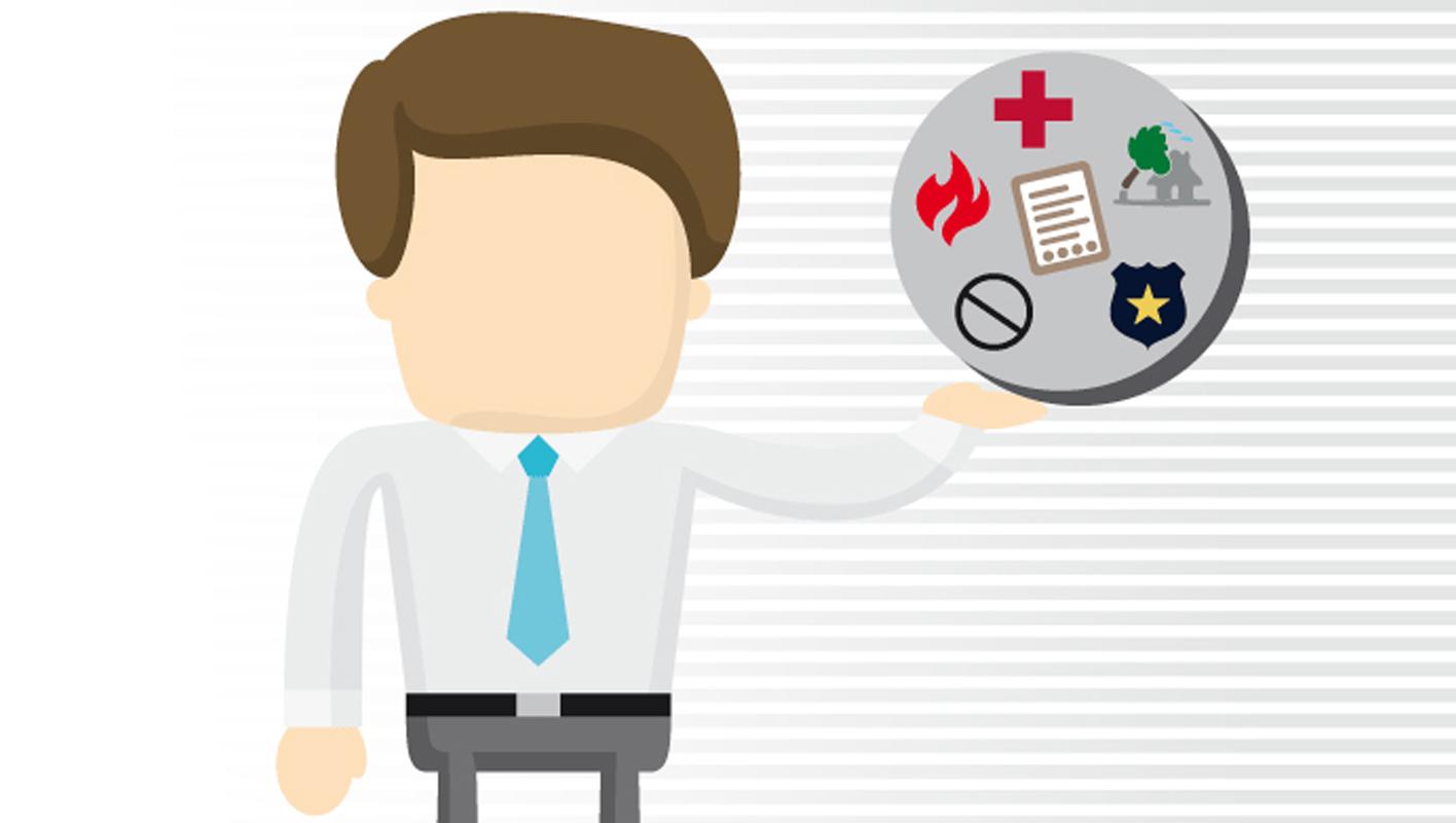 9-1-1 atiende llamadas de emergencias médicas, de seguridad y de protección civil.