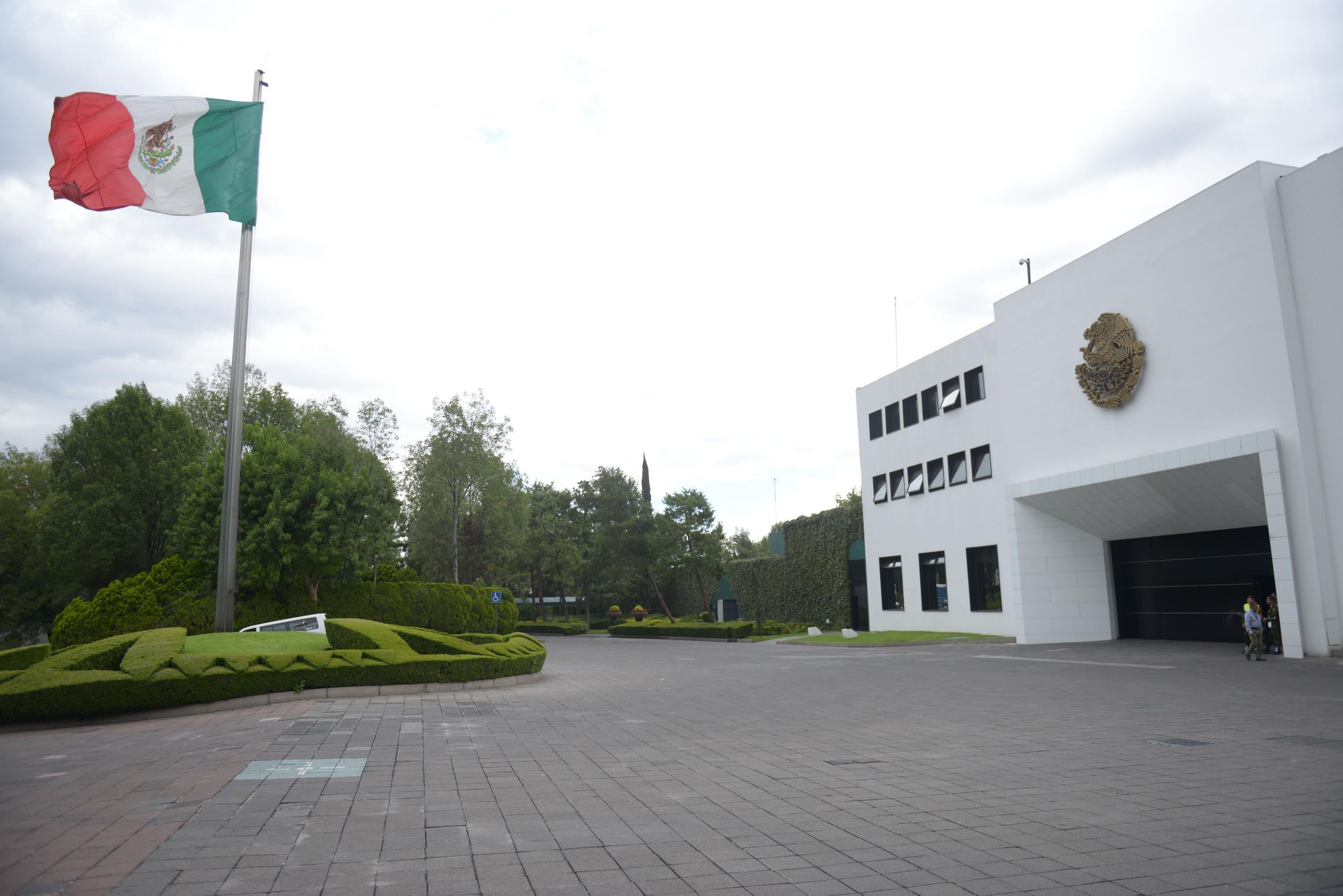 Residencia Oficial de Los Pinos.