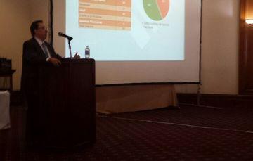 Conferencia del Lic. Luis Eduardo Iturriaga, Vicepresidente Jurídico de la CNSF