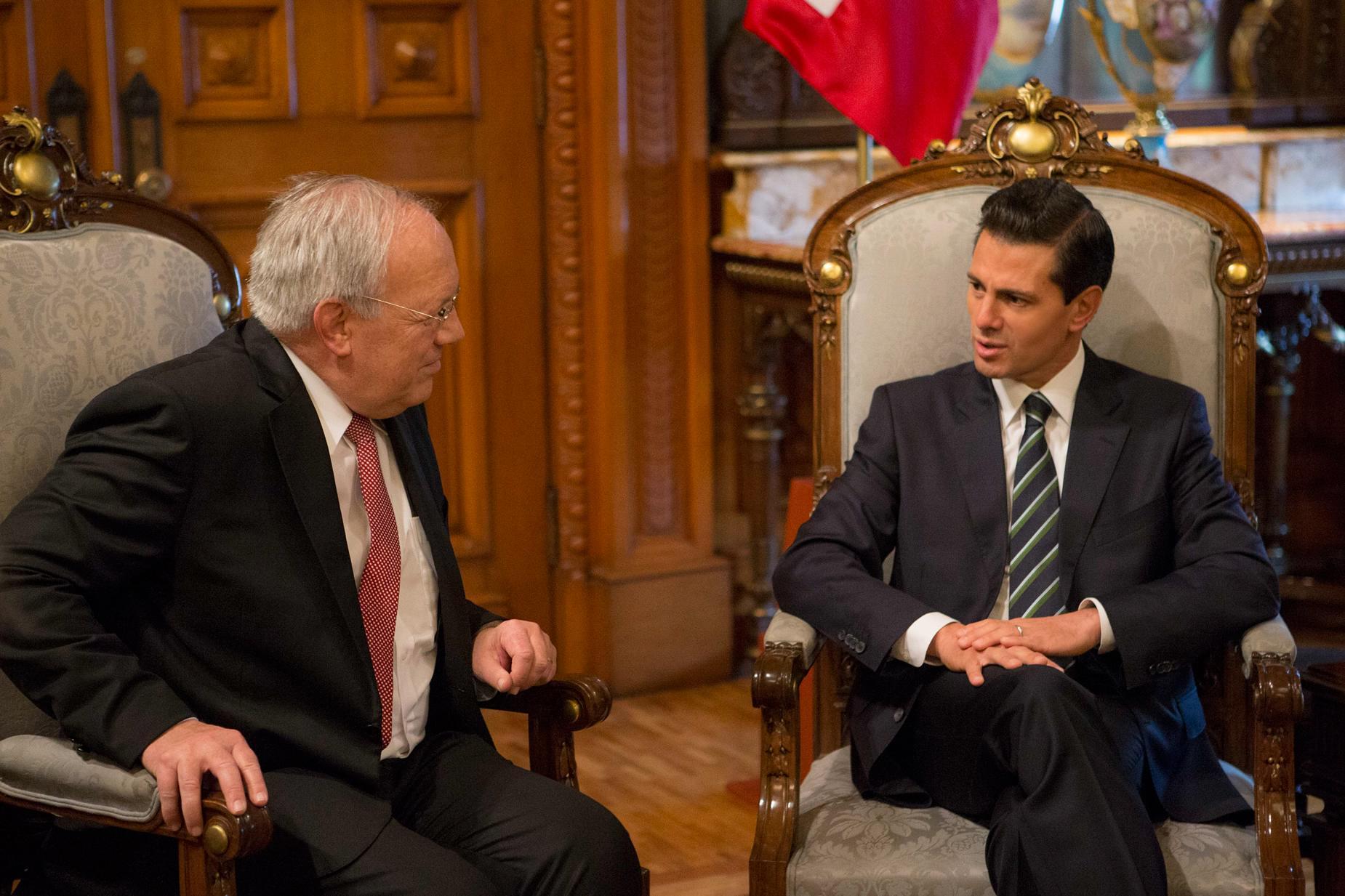 México y Suiza refrendaron el compromiso por construir juntos un mejor futuro para ambas naciones.