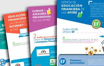 Censo de herramientas de Educación Financiera que ofrecen las AFORE a los ahorradores del SAR