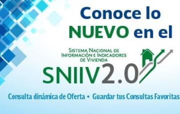 Lo nuevo SNIIV