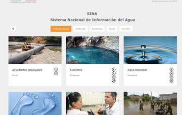 Conoce qué es el Sistema de Información del Agua (SINA)
