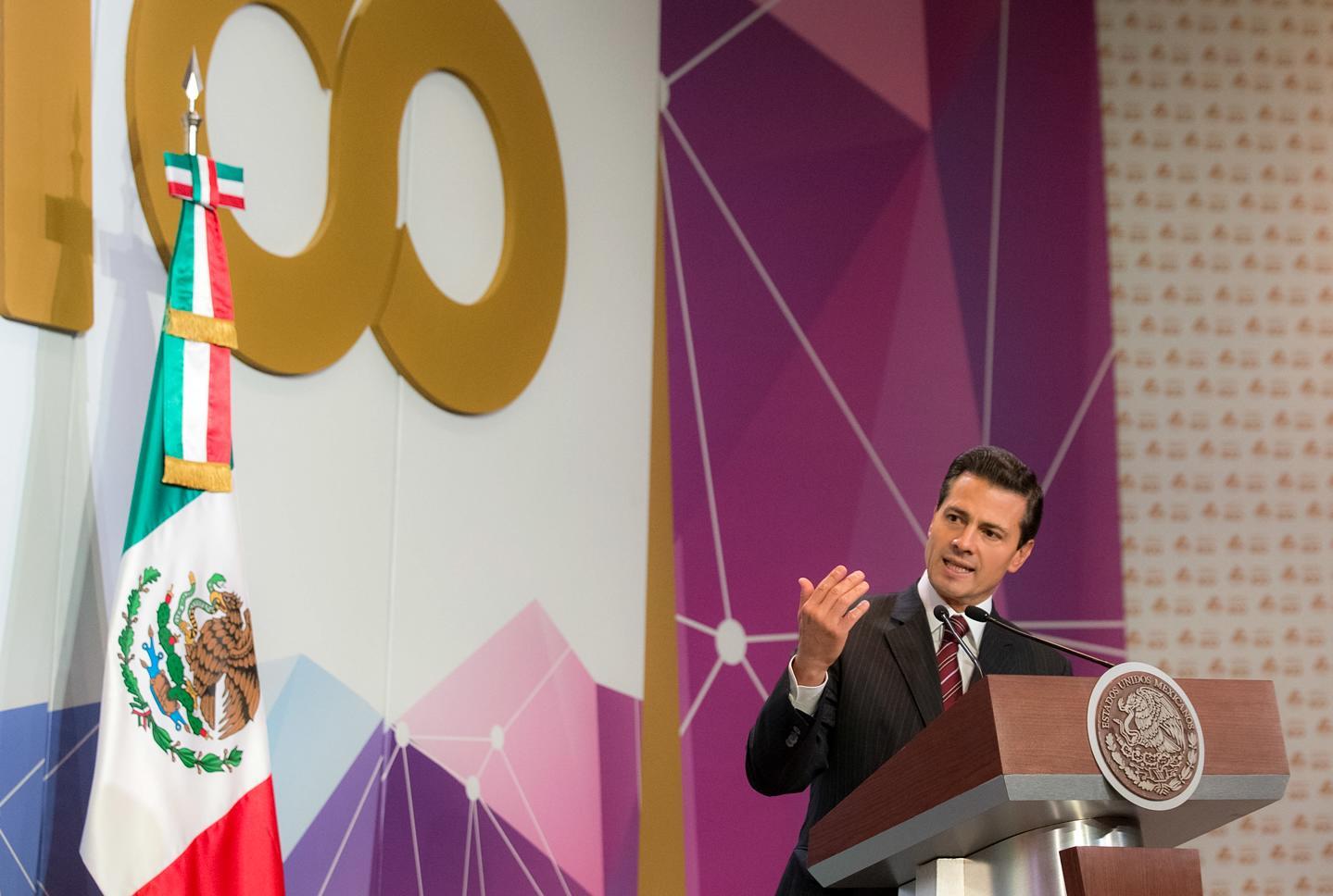 """""""Mi Gobierno está orientado y decidido a lograr un acuerdo y una visión constructiva que favorezca al desarrollo de la prosperidad de nuestras sociedades, tanto en México como en los Estados Unidos"""": EPN"""