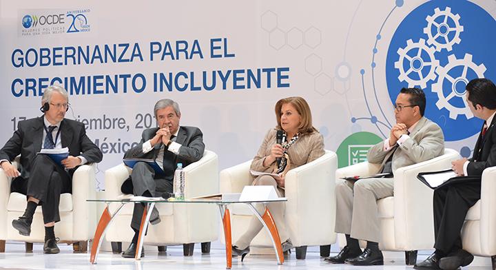 Participa Mtra. Arely Gómez en Panel de Integridad en el 20 aniversario de la OCDE
