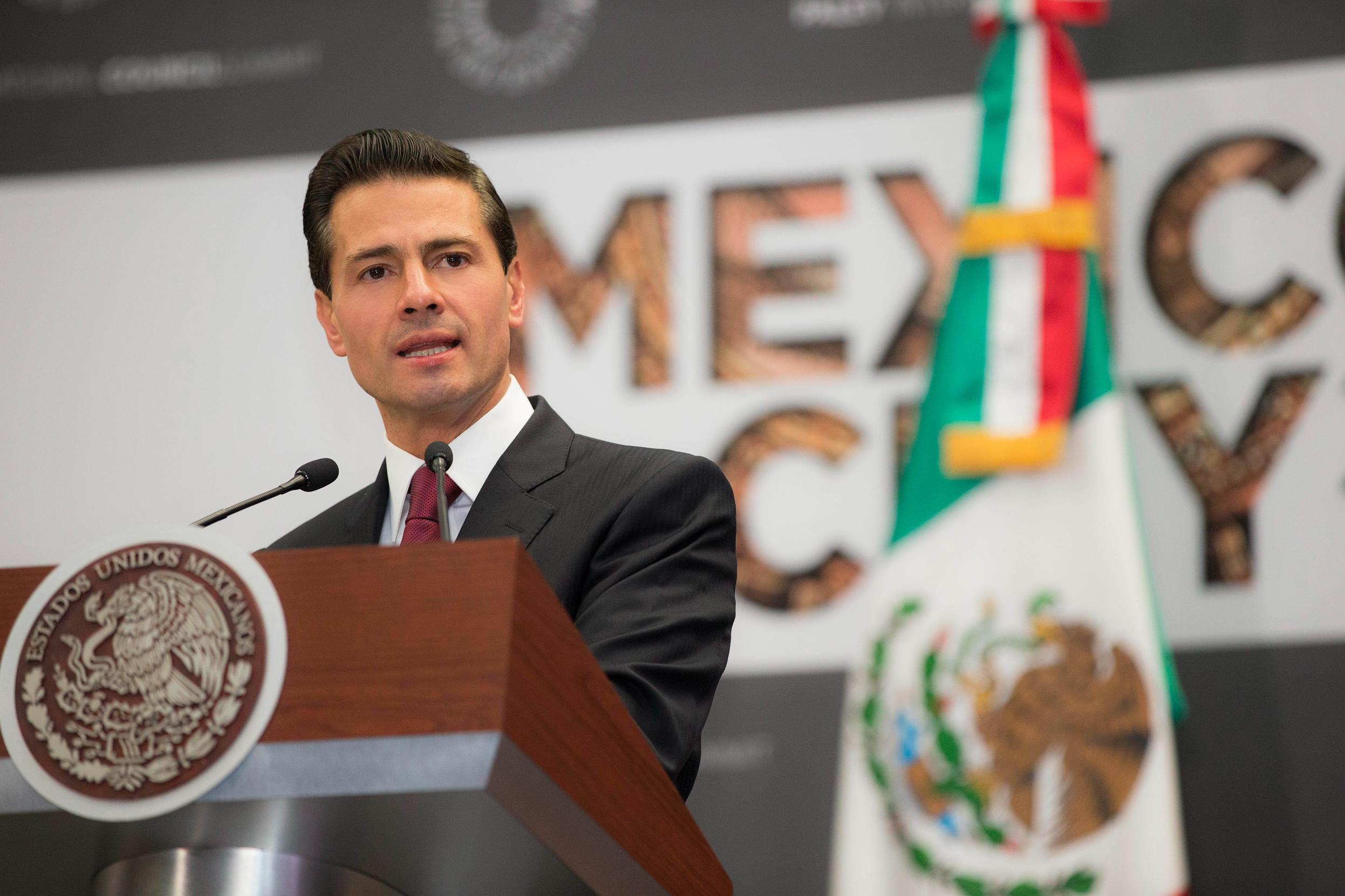 """""""En la nueva etapa en la relación entre México y Estados Unidos, iniciará una era de nuevos retos, pero también de grandes oportunidades para encontrar nuevos caminos de cooperación y prosperidad compartida"""": EPN"""