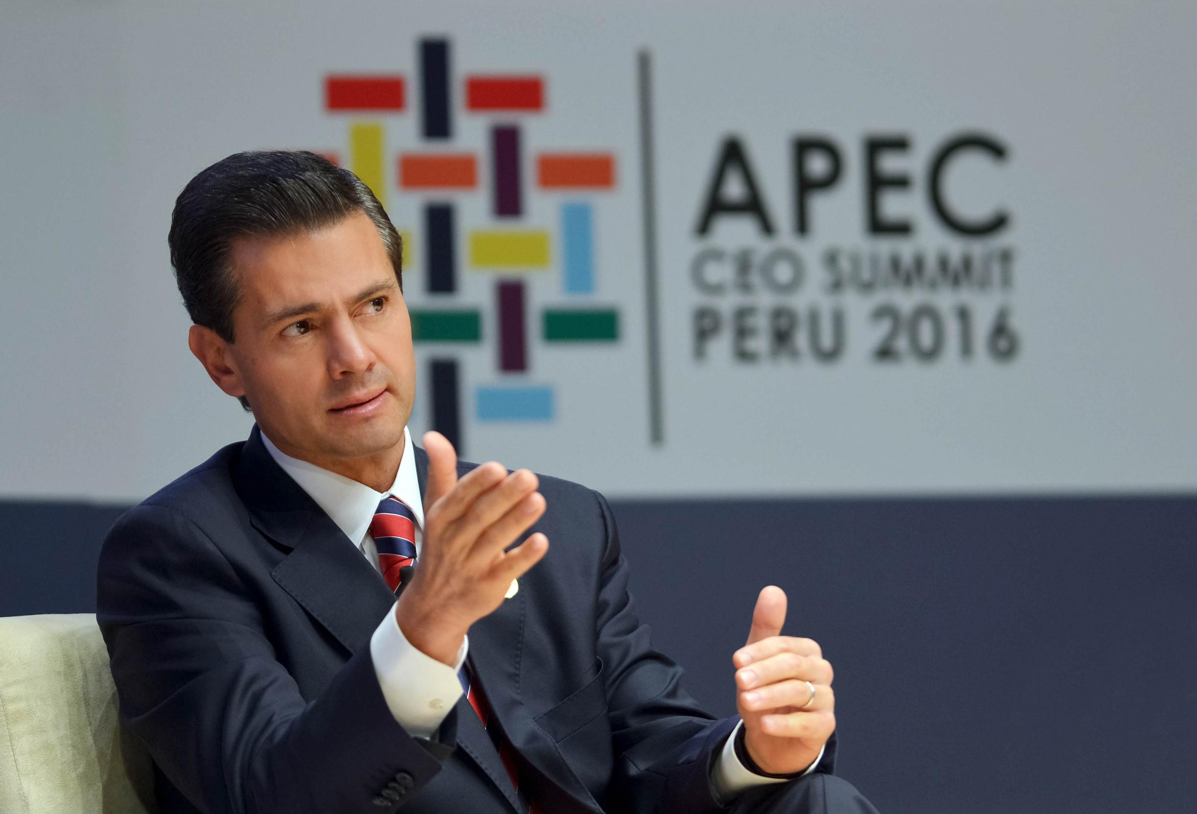 """""""Entendemos que México está por iniciar, como el mundo entero, una nueva etapa en la relación con los Estados Unidos, y en términos comerciales queremos realmente darle valor, el justo valor que tiene a esta relación estratégica"""": EPN"""