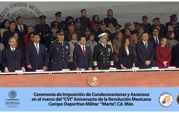 Ceremonia de Imposición de Condecoraciones y Ascensos.
