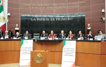 Los senadores del PRI escuchamos con el mayor interés las diversas opiniones sobre los alcances del TPP: senador Emilio Gamboa Patrón