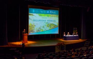 Inauguración del Foro: Seguridad hídrica.