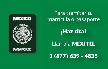 Realiza tu cita en MEXITEL