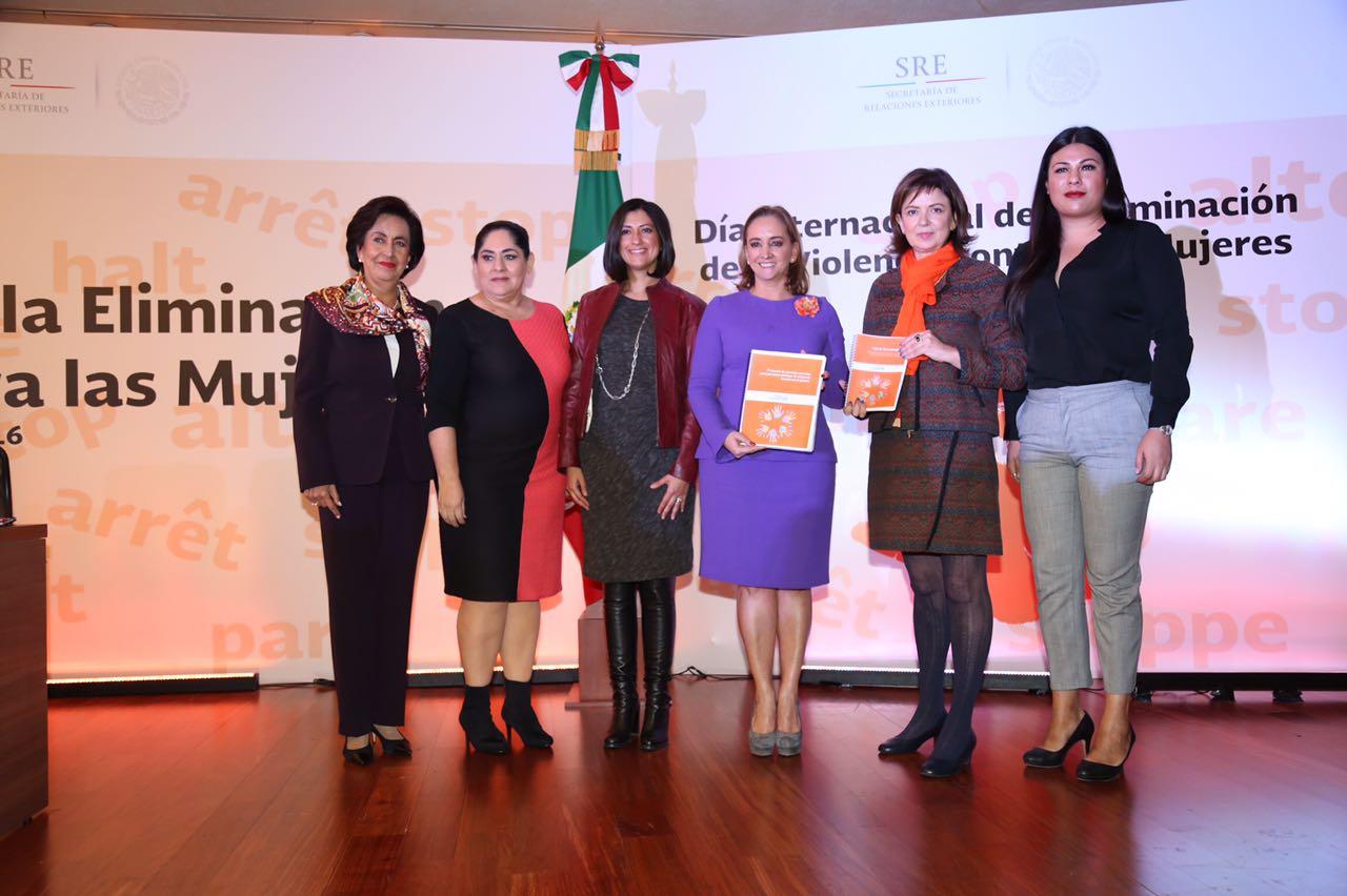 Conmemoración del Día Internacional de la Eliminación de la Violencia contra la Mujer.