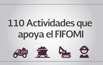 Actividades que apoya el FIFOMI