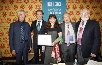 Entrega del Premio Hispanoamericano para niños 2016