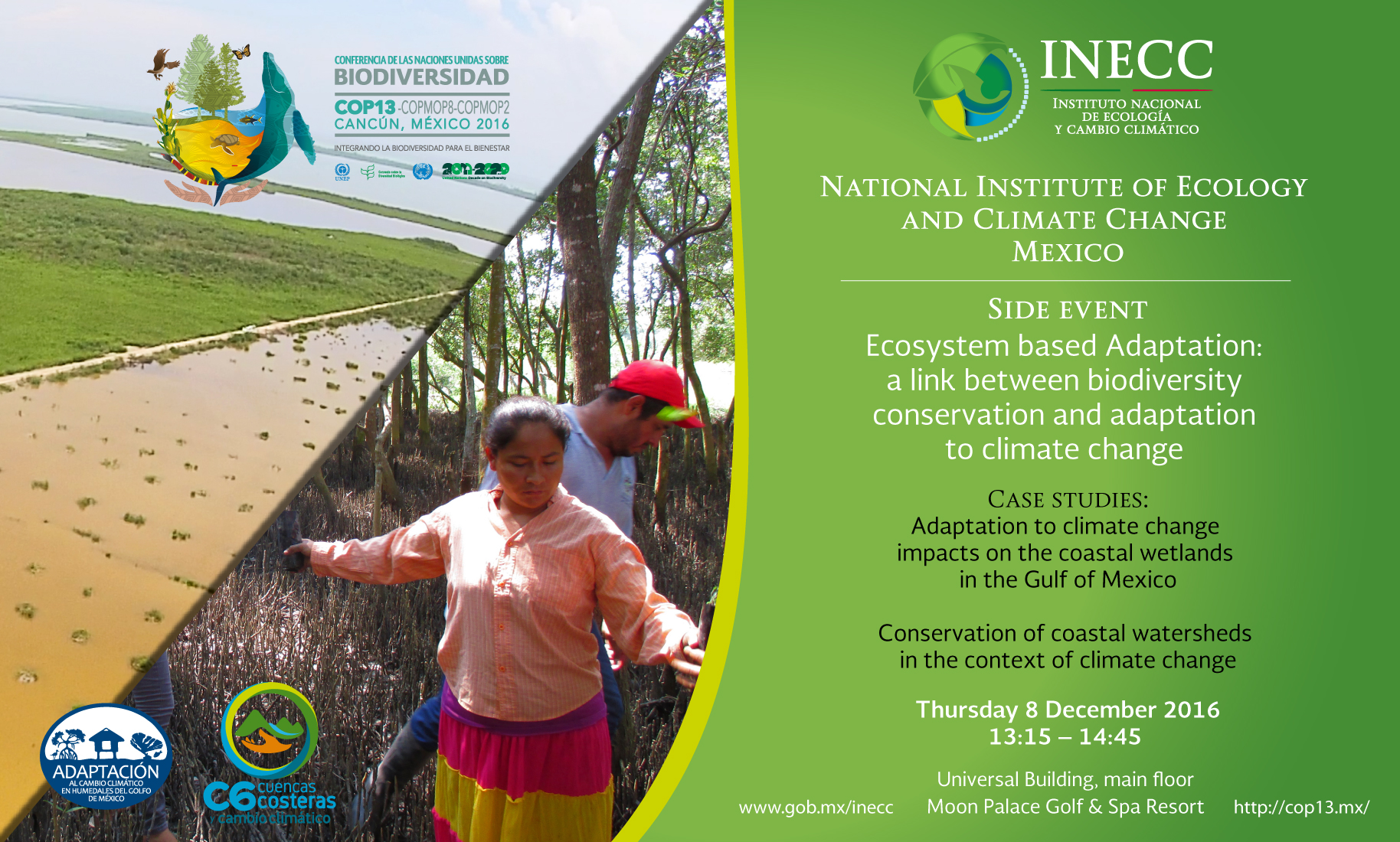 Side event COP13 08/dic